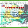 Certificado do Encontro Regional de Radioamadores em Dias D'ávila